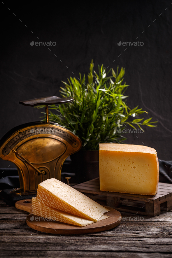 Mature cheese composition - Stock Photo - Images