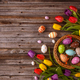 Easter eggs and tulips - PhotoDune Item for Sale