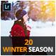 20 Winter Season Lightroom Presets - GraphicRiver Item for Sale