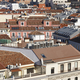 Madrid skyline city center. Downtown traditional buildings. Travel in Spain - PhotoDune Item for Sale