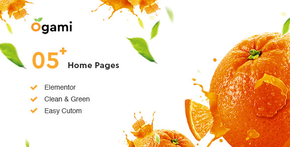 Ogami - Organic Store WordPress Theme