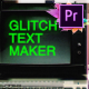 70 Glitch Title Animation Presets Pack For Premiere Pro | MOGRT - VideoHive Item for Sale