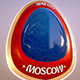moscow City World Cup Russia 2018 Symbol - 3DOcean Item for Sale
