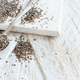 Chia seeds with a spoon - PhotoDune Item for Sale