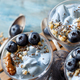 Blueberries and yogurt chia pudding parfait - PhotoDune Item for Sale