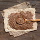 Flax seeds with spoon - PhotoDune Item for Sale