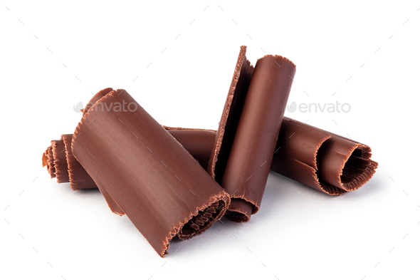 Chocolate shavings - Stock Photo - Images