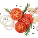 fresh tomato, herbs and spices - PhotoDune Item for Sale