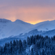 sunrise in Bucegi Mountains, Romania - PhotoDune Item for Sale