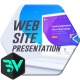 Website Presentation // Flat Mockup - VideoHive Item for Sale