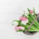 Colorful tulips flower bouquet - PhotoDune Item for Sale