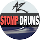 Typography Stomp Drums