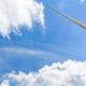 Wind turbine on sky - PhotoDune Item for Sale
