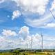 Landscape many windmills field - PhotoDune Item for Sale