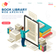 Media Book Library Template Vector - GraphicRiver Item for Sale