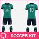 Men's Full Soccer Team Kit Mockup V6 - GraphicRiver Item for Sale