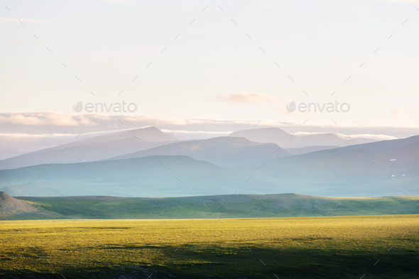 Polar tundra - Stock Photo - Images