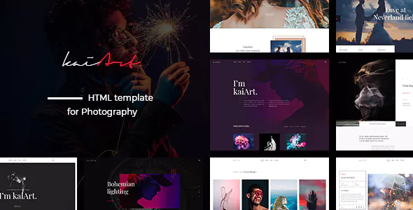 kaiArt - Responsive HTML Template for Photography