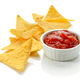 corn chips nachos and salsa sauce - PhotoDune Item for Sale