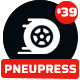 PneuPress - Tire Shop WordPress Theme