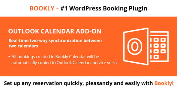 Bookly Outlook Calendar (Add-on)