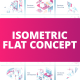 Isometric Flat Concept - VideoHive Item for Sale