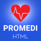 ProMedi - Medical HTML Template - ThemeForest Item for Sale