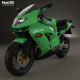 Kawasaki Ninja ZX-9R 1998 - 3DOcean Item for Sale