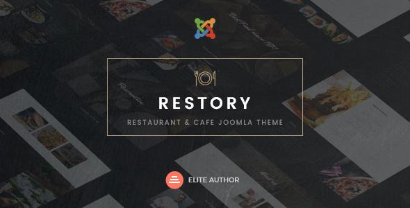 Restory - Restaurant & Cafe Joomla Template