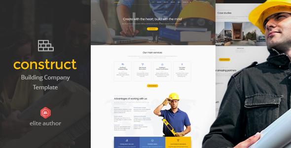 Construct - Construction & Building Joomla Template