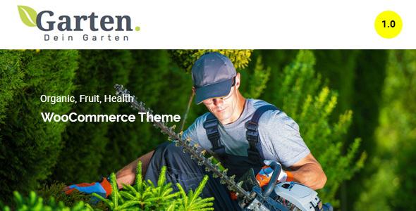 Garten – Farmer WooCommerce Theme Free Download