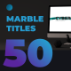 Unique Marble Titles - VideoHive Item for Sale