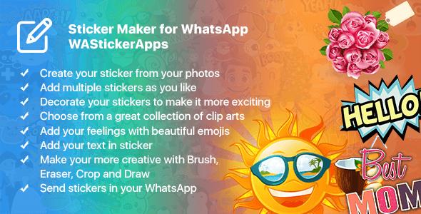 Sticker Maker For Whatsapp Apk – Fondos de Pantalla