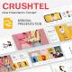Crushtel Google Slide Presentation Template - GraphicRiver Item for Sale