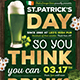 Saint Patricks Day Flyer Template V7 - GraphicRiver Item for Sale