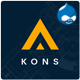 Kons - Construction and Building Drupal 8 Theme