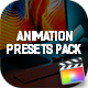 Animation Presets Pack for Final Cut Pro X - VideoHive Item for Sale