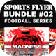 Sports Flyer Bundle 02 Football Series - GraphicRiver Item for Sale