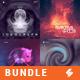 Electronic Music Album Cover Artwork Templates Bundle 7 - GraphicRiver Item for Sale