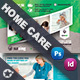 Home Care Postcard Bundle Templates - GraphicRiver Item for Sale