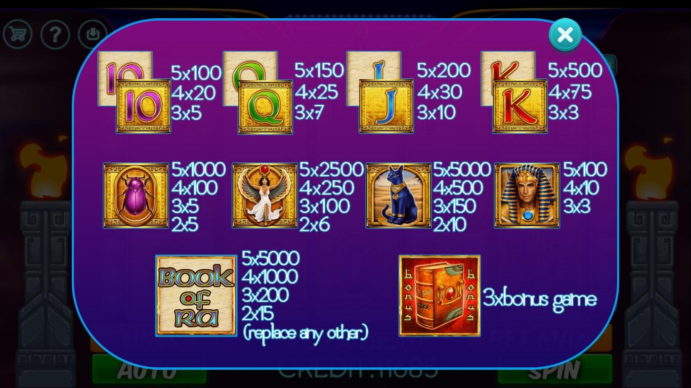 Book Of Ra 2 Full Screen