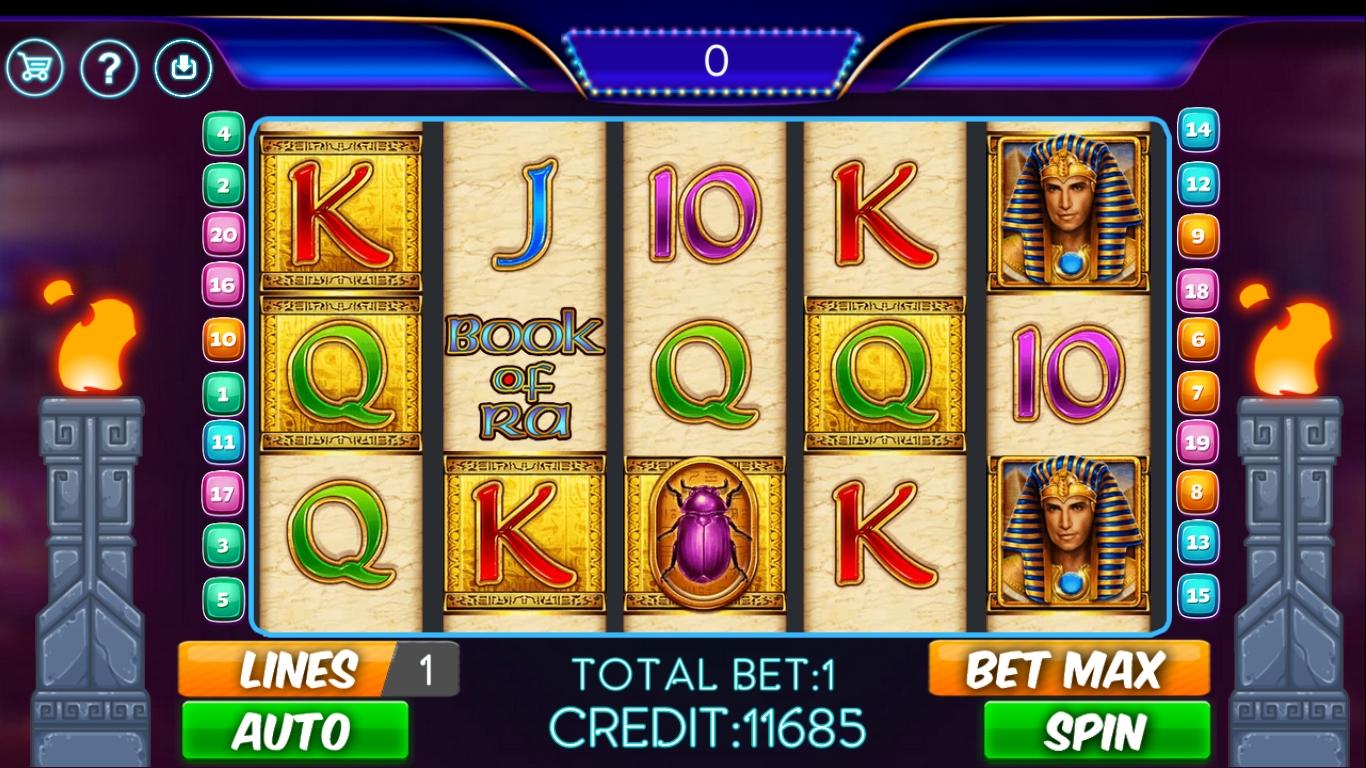 Book Of Ra 2 Slot Machine