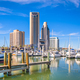 Corpus Christi, Texas, USA skyline on the bay - PhotoDune Item for Sale