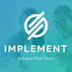 Implement Solution Pitch Deck Powerpoint Template - GraphicRiver Item for Sale