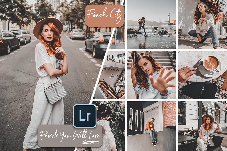 Peach City Lightroom Mobile and Desktop Presets