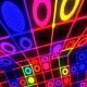 Circle Neon Colorful Flashing - VideoHive Item for Sale