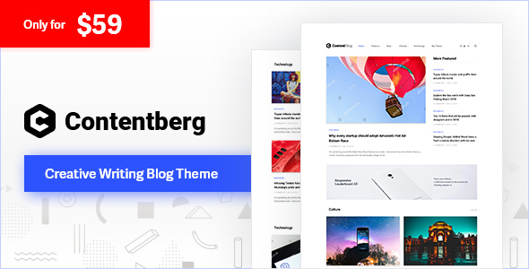 Contentberg - Content Marketing & Personal Blog