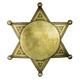 Isolated Blank Sheriff Style Badge - PhotoDune Item for Sale