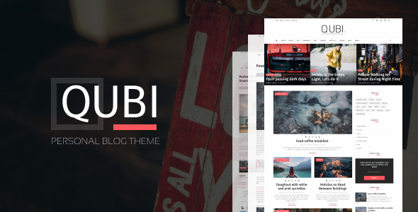 Qubi Blogger Template | Fashion, Beauty,  News & Blog Theme by Wpsmart