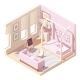 Vector Isometric Children's Room - GraphicRiver Item for Sale